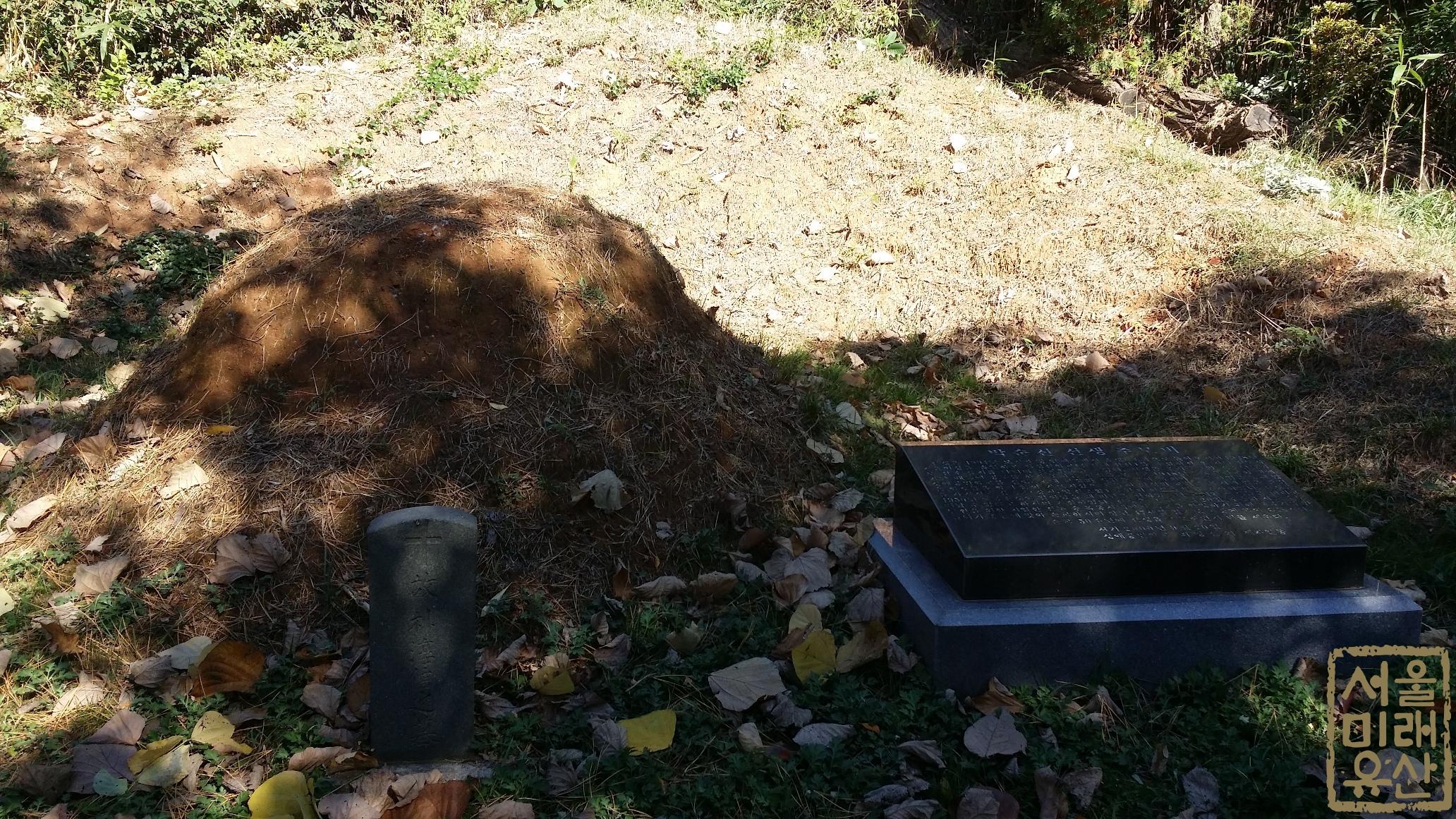 박순신 선생 추모비 및 묘지