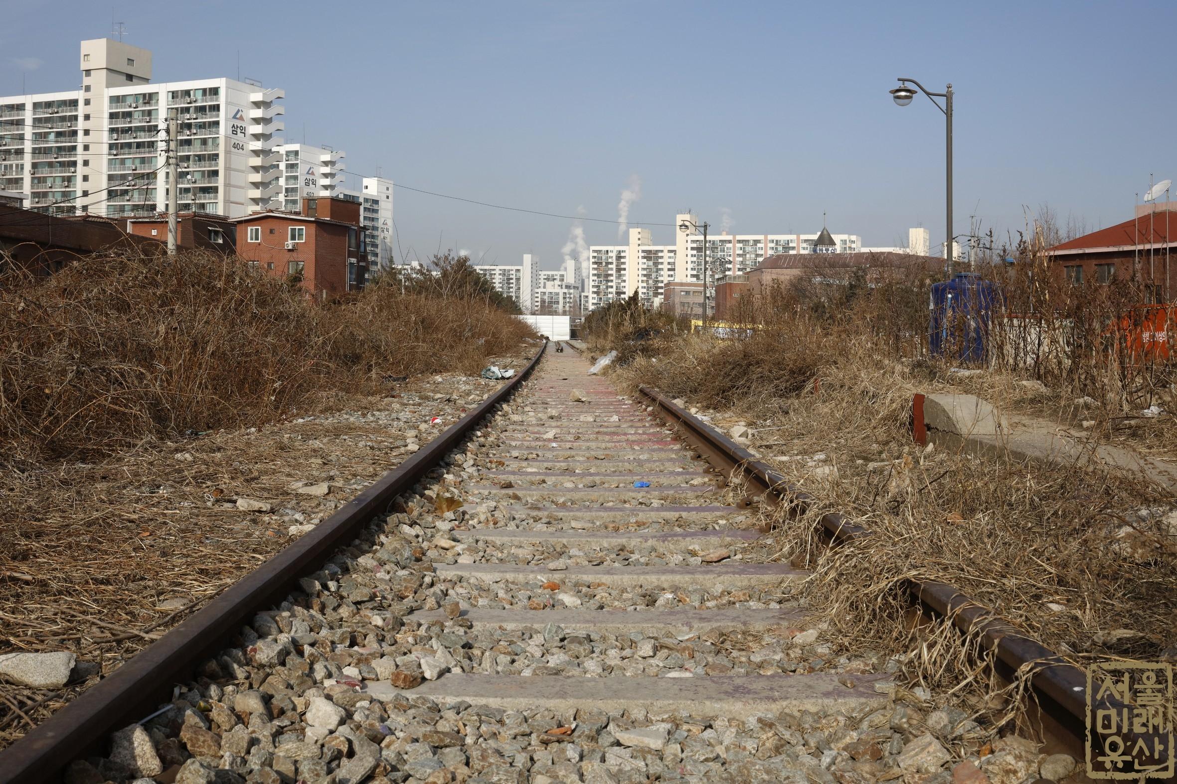 경춘선 폐철도노선 전경1
