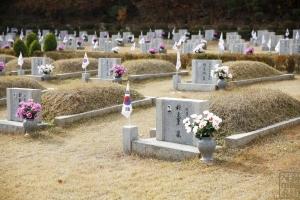 국립 4.19민주묘지 묘지 전경1