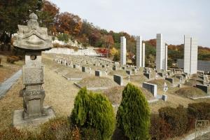국립 4.19민주묘지 묘지 전경3