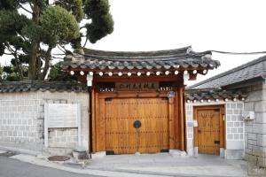 김성수 가옥 정문