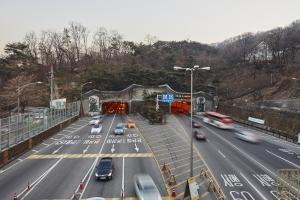 남산1호터널 북단 전경1