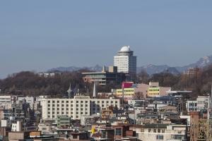 남산도서관 원경