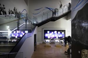 대한민국역사박물관 내부 계단