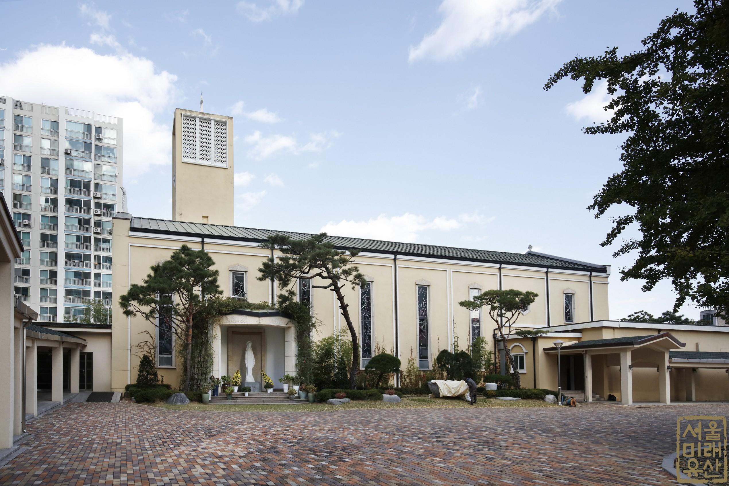도림동 성당 전경1