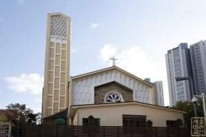 도림동 성당 정면