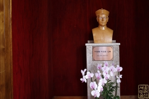 도림동 성당 이현종 야고보 신부 흉상