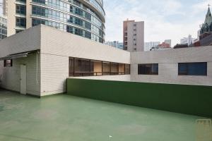 동화약품 건물 옥상