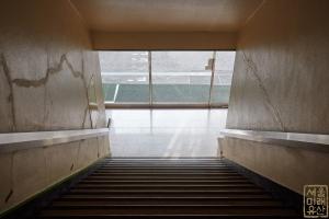 동화약품 건물 내부 계단