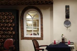 라 칸티나 내부 창문