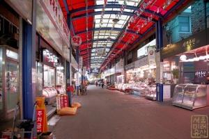 마장축산물시장 내부 도로2