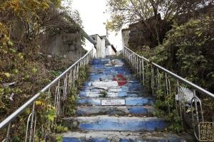 백사마을 계단