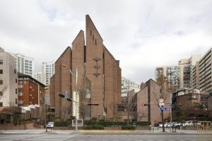 불광동 성당 전경