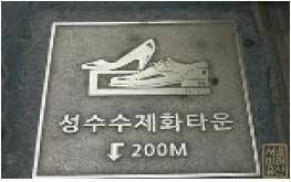 구두제조업(성수동일대)
