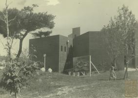 서울대학교 예술관 19760405 (완공직후)