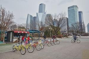 여의도 공원 자전거 대여