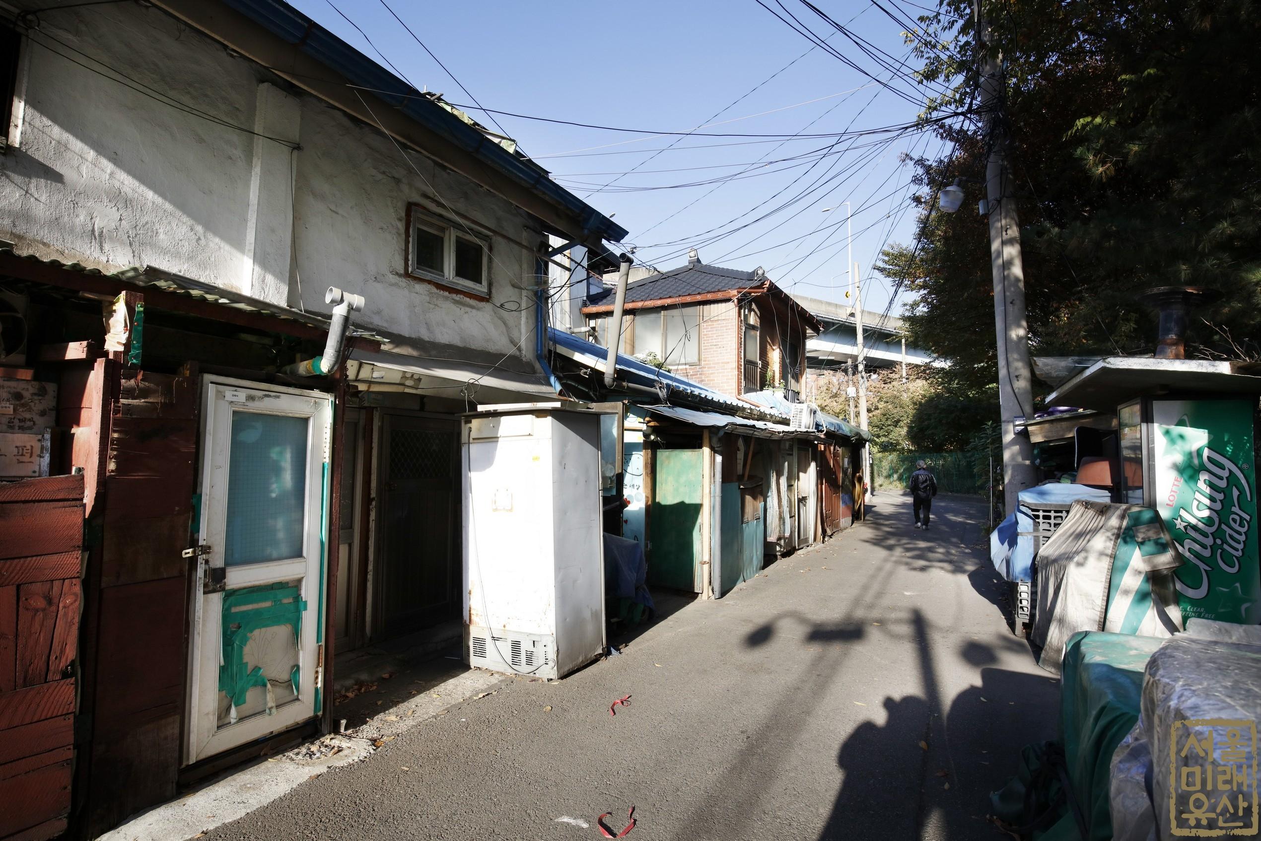 영등포 쪽방촌 골목1