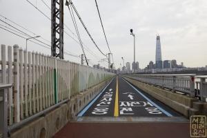 잠실철교 자전거도로
