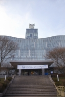 중앙대학교 중앙도서관 정문