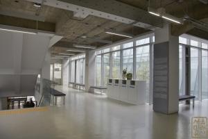 중앙대학교 중앙도서관 내부 계단1