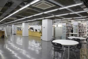 중앙대학교 중앙도서관 열람실2