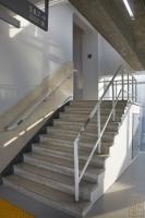 중앙대학교 중앙도서관 내부 계단2