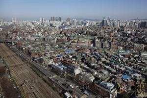 한국수출산업단지(구로공단) 전경