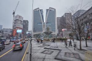 한국은행 앞 광장 분수대1