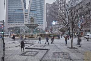 한국은행 앞 광장 분수대2
