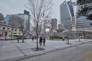 한국은행 앞 광장 분수대3