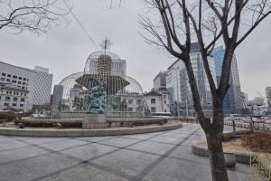 한국은행 앞 광장 분수대4