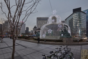 한국은행 앞 광장 분수대6