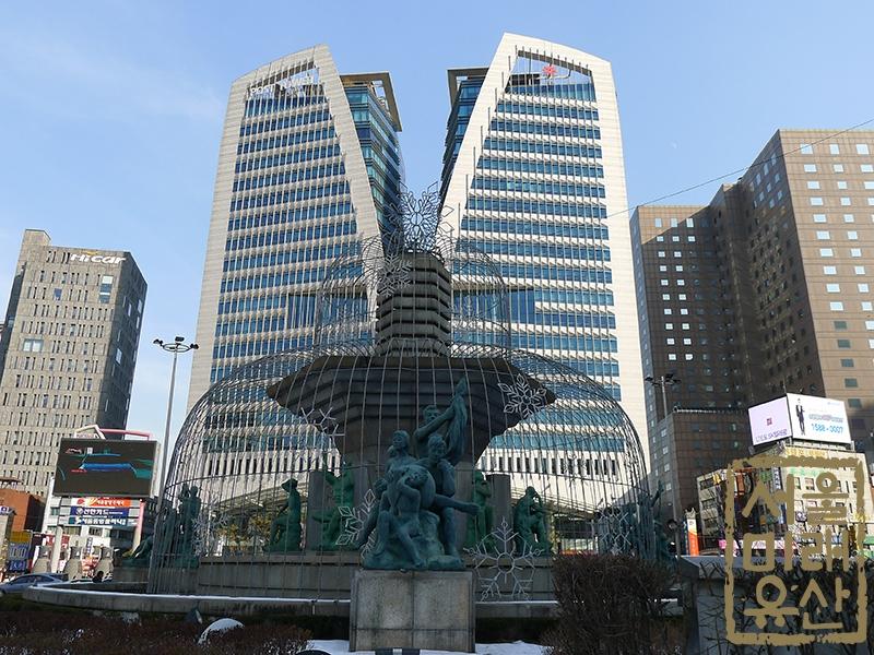 한국은행 앞 광장