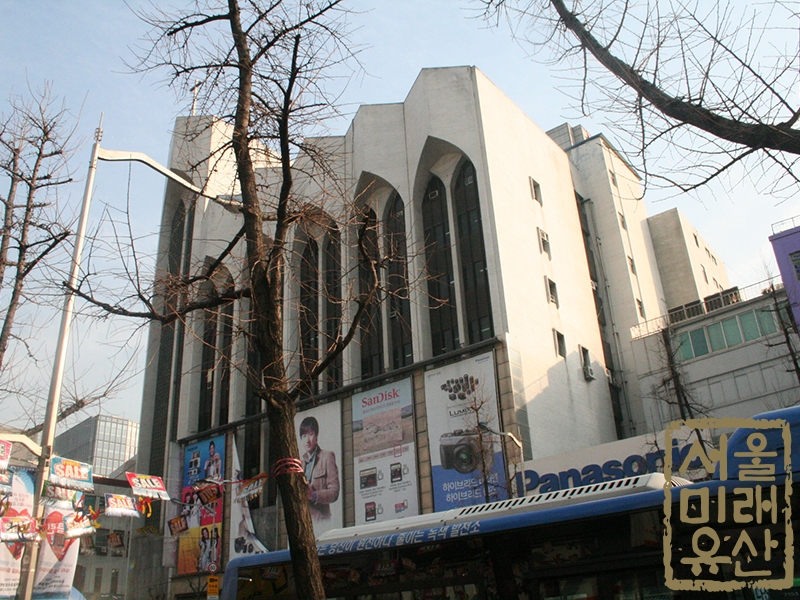 상동교회(구 새로나백화점)