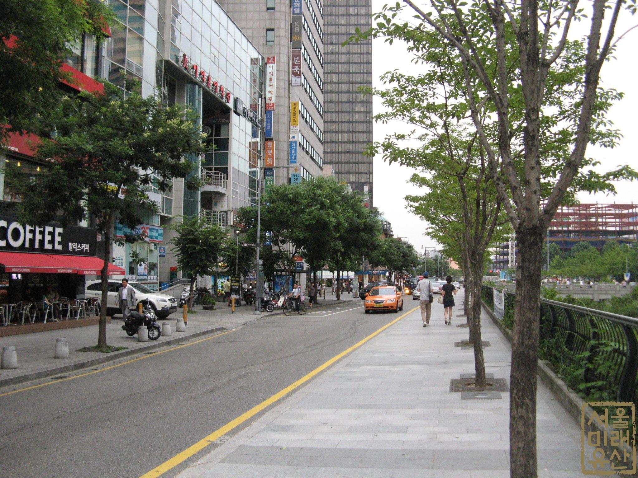 관철동의 도시조직