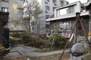 전뢰진 옛 가옥 및 작업실 정원1
