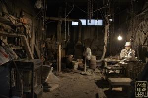 전뢰진 옛 가옥 및 작업실 작업모습4