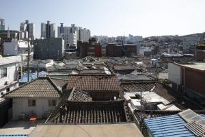 동소문2가동 한옥밀집지역 전경