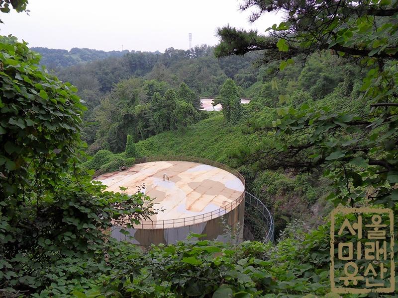 석유비축기지 유류탱크(전경)