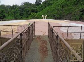 석유비축기지 유류탱크(근경) (2)
