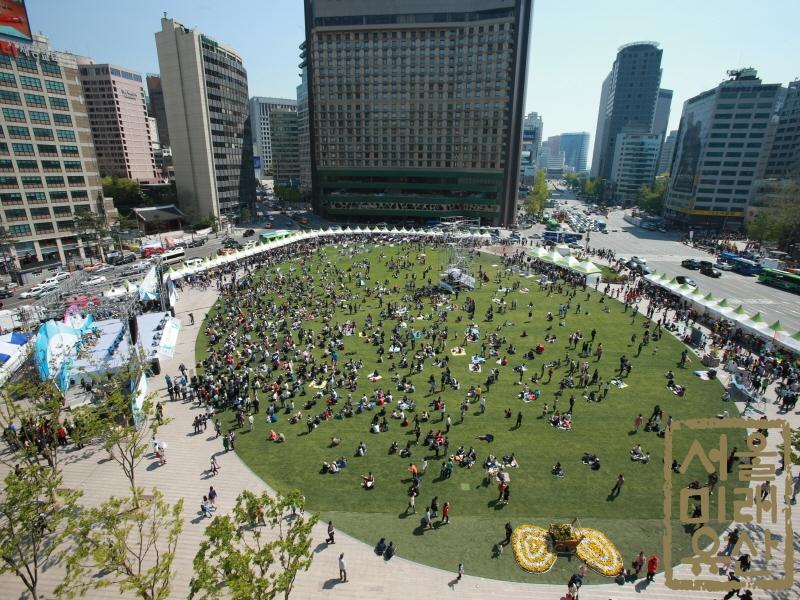 서울광장 전경