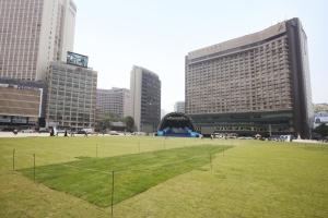 서울광장 무대 전경2