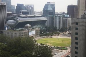 서울광장 지상 전경