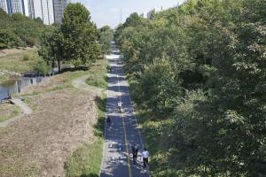 양재천 자전거 도로1
