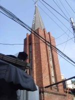 체부동 성결교회 종탑