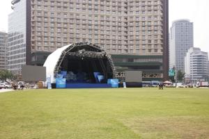 서울광장 무대 전경1