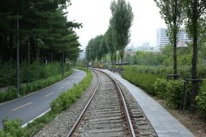경춘선 폐철도노선 광운대방향철길