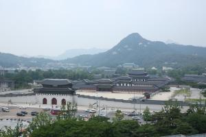 대한민국역사박물관 옥상 전경