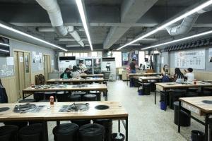 마장축산물시장 식당