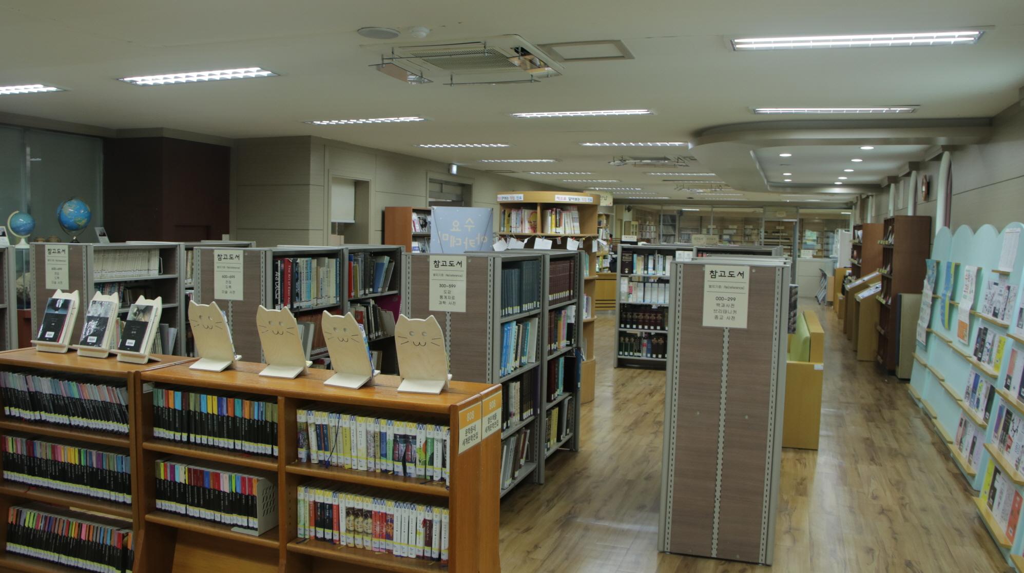 숙명여자고등학교 도서관(내부2)